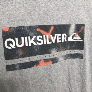 Quiksilver Shirts - Quiksikver Gray T Shirt